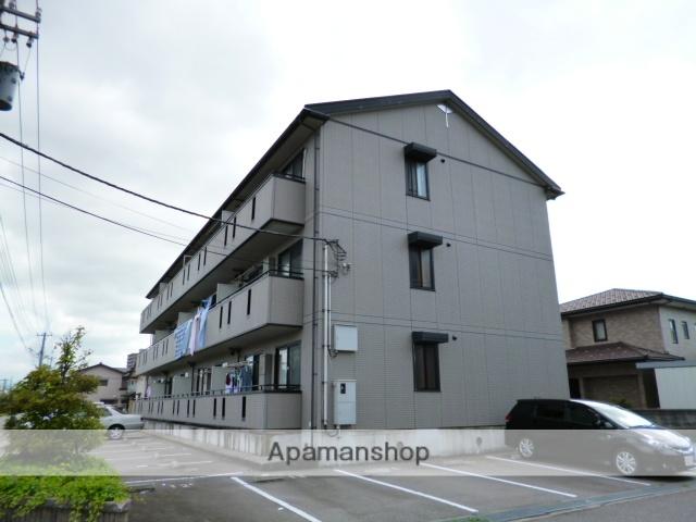 富山県富山市、不二越駅徒歩6分の築14年 3階建の賃貸アパート