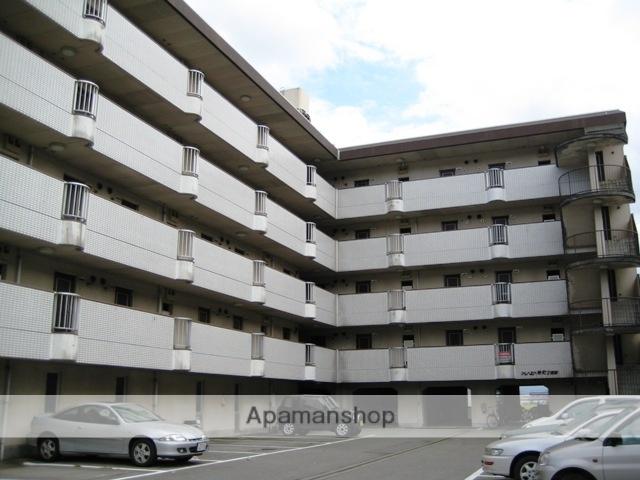富山県富山市、西富山駅徒歩7分の築30年 5階建の賃貸マンション
