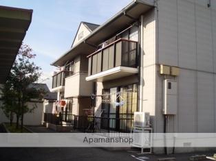富山県富山市、南富山駅徒歩20分の築19年 2階建の賃貸アパート
