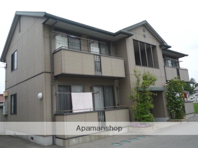 富山県富山市、粟島(大阪屋ショップ前)駅徒歩15分の築15年 2階建の賃貸アパート