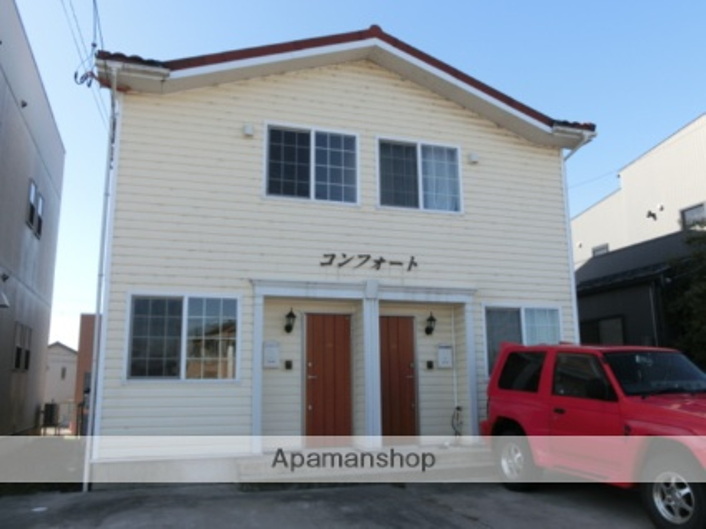 富山県富山市の築10年 2階建の賃貸テラスハウス