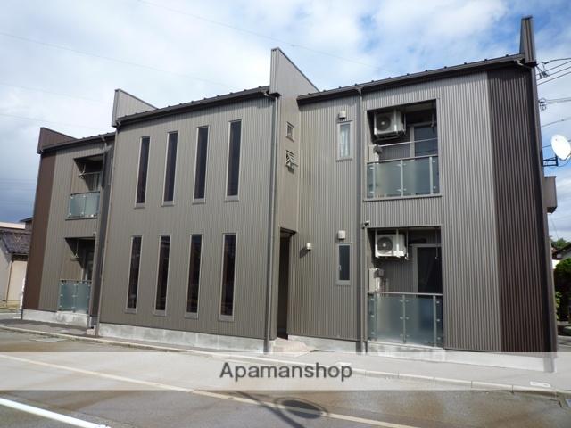 富山県富山市、蓮町駅徒歩5分の築9年 2階建の賃貸アパート