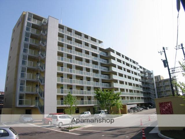 富山県富山市、西富山駅徒歩14分の築14年 9階建の賃貸マンション
