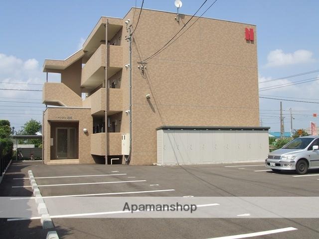 富山県射水市、越中大門駅徒歩8分の築9年 3階建の賃貸マンション