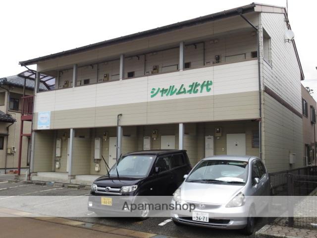 富山県富山市の築22年 2階建の賃貸アパート
