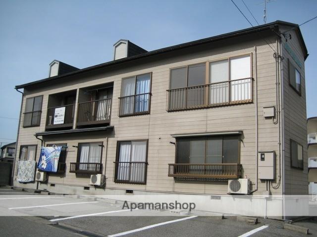 富山県富山市の築26年 2階建の賃貸テラスハウス