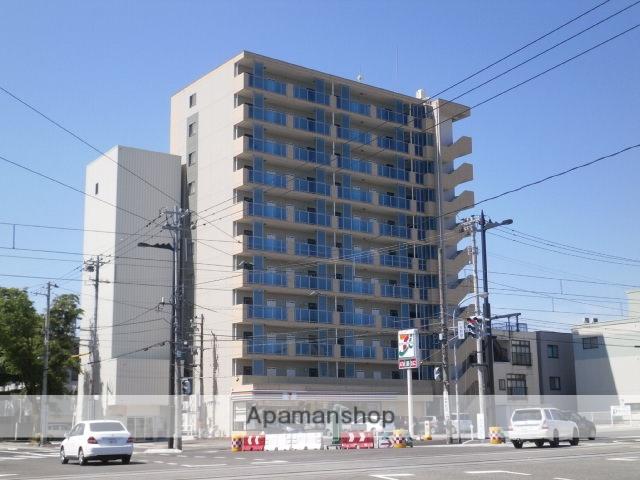 富山県富山市、諏訪川原駅徒歩4分の築4年 11階建の賃貸マンション
