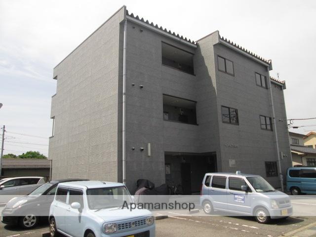 富山県富山市、インテック本社前駅徒歩8分の築20年 3階建の賃貸マンション
