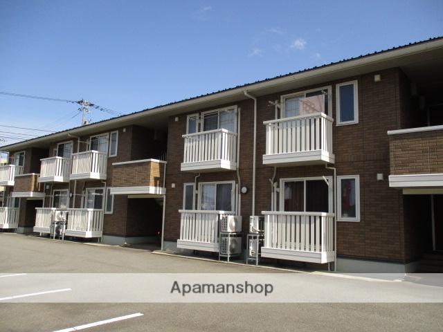 富山県富山市、不二越駅徒歩7分の築7年 2階建の賃貸アパート