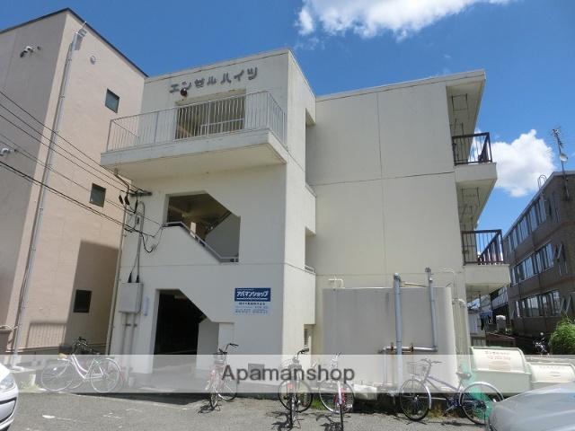 富山県富山市、西富山駅徒歩3分の築35年 3階建の賃貸マンション