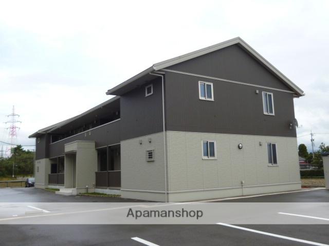 富山県富山市の築7年 2階建の賃貸アパート