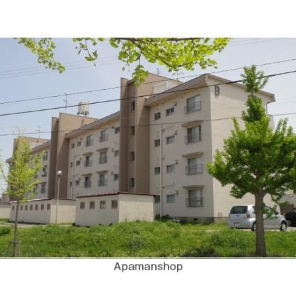 富山県射水市、小杉駅徒歩17分の築45年 4階建の賃貸マンション