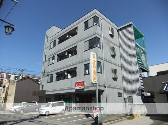 富山県富山市、諏訪川原駅徒歩3分の築25年 4階建の賃貸マンション