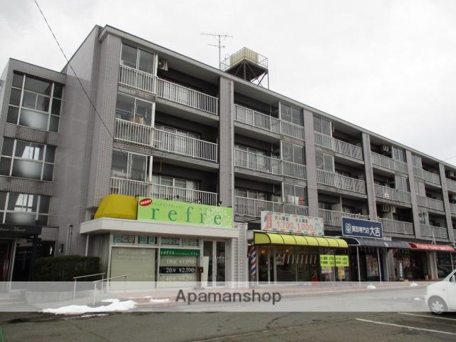 富山県富山市、小泉町駅徒歩10分の築32年 4階建の賃貸マンション
