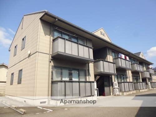 富山県富山市、朝菜町駅徒歩8分の築17年 2階建の賃貸アパート