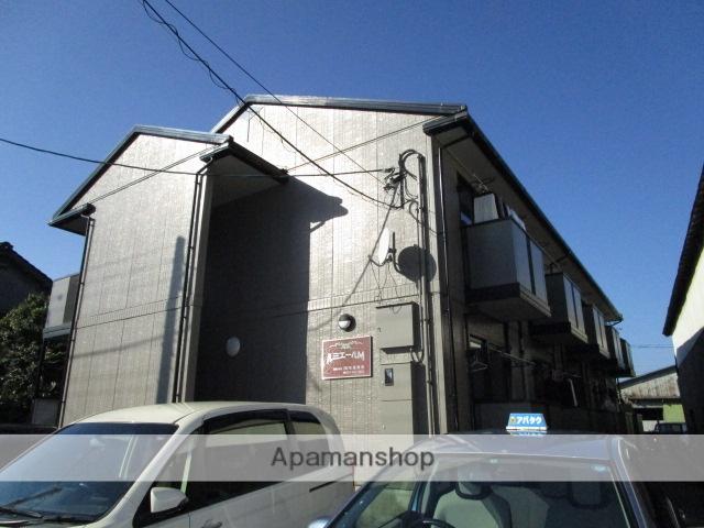 富山県富山市、富山駅徒歩17分の築17年 2階建の賃貸アパート