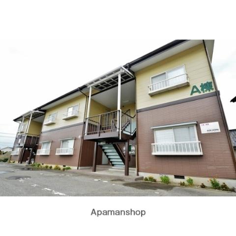 富山県富山市、越中八尾駅徒歩12分の築21年 2階建の賃貸アパート