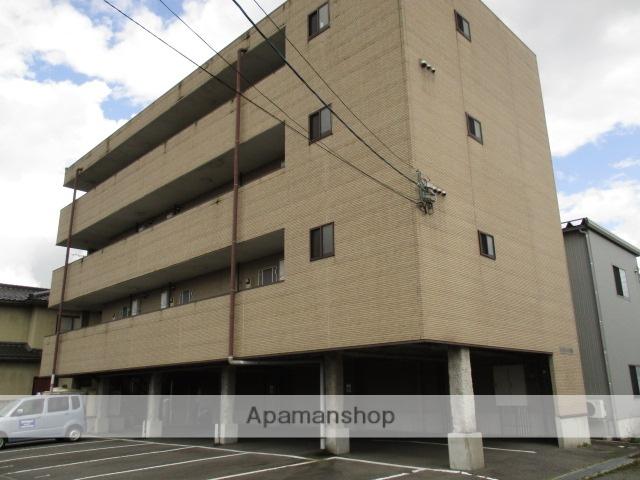 富山県富山市の築11年 4階建の賃貸アパート