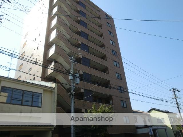 富山県富山市、西町駅徒歩11分の築25年 11階建の賃貸マンション