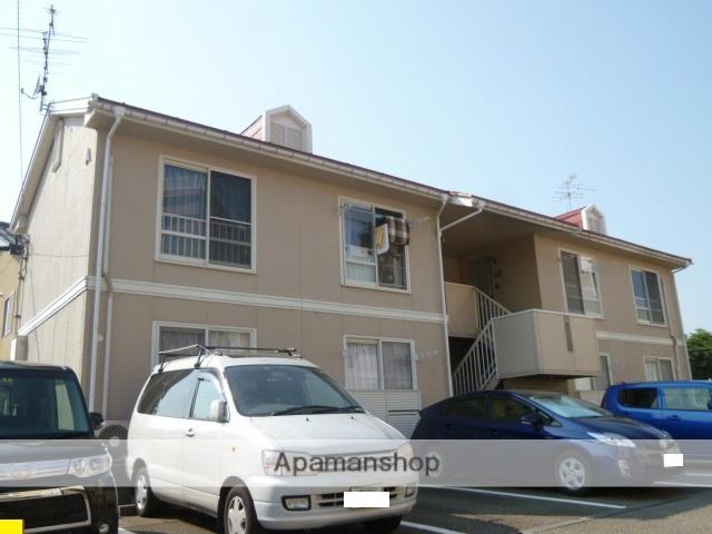 富山県富山市の築25年 2階建の賃貸アパート
