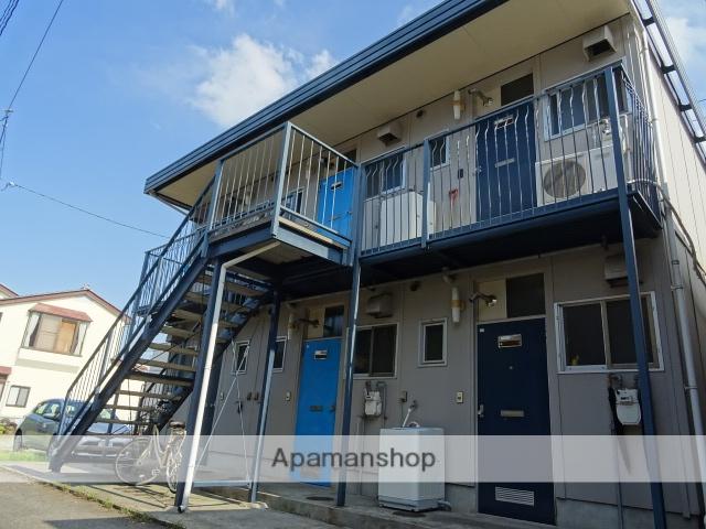 富山県富山市、小泉町駅徒歩8分の築35年 2階建の賃貸アパート