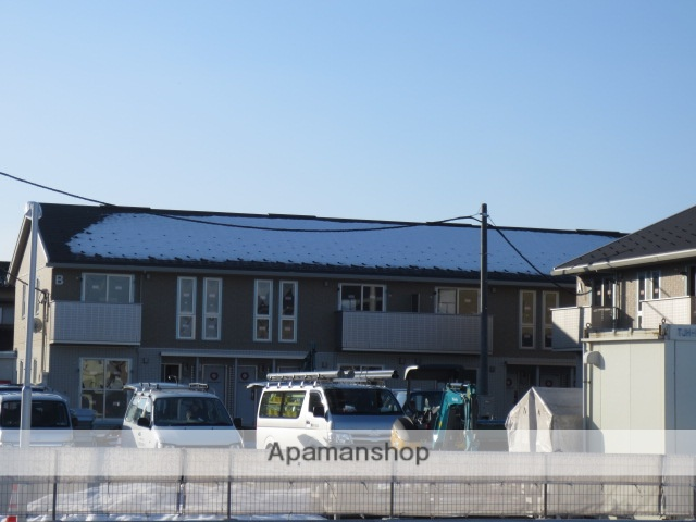 富山県富山市、朝菜町駅徒歩55分の築3年 2階建の賃貸アパート