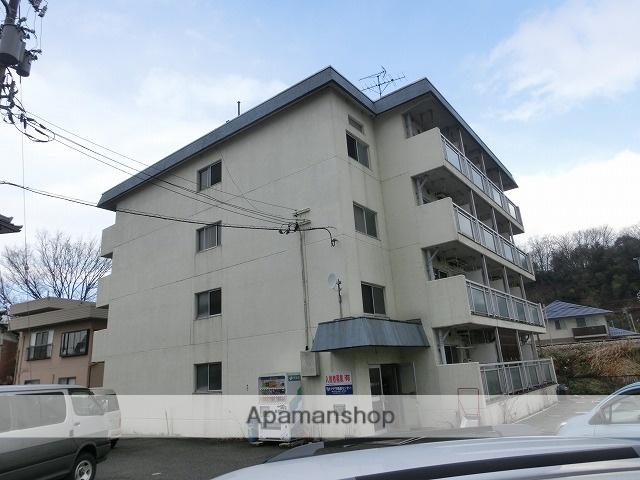 富山県富山市、西富山駅徒歩16分の築36年 4階建の賃貸マンション