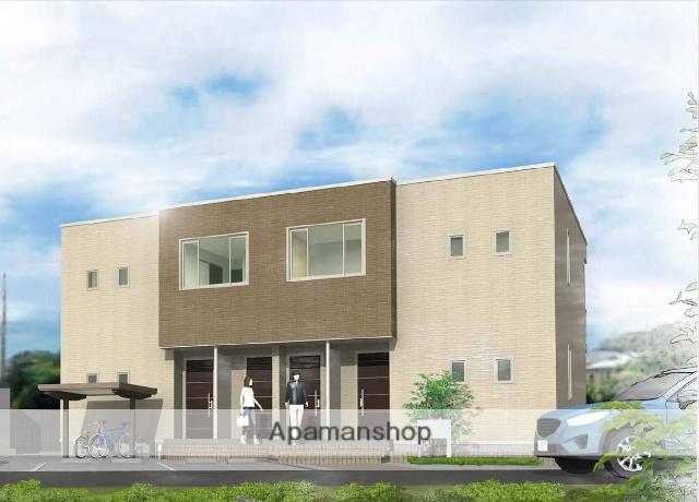富山県富山市、東新庄駅徒歩5分の築2年 2階建の賃貸アパート
