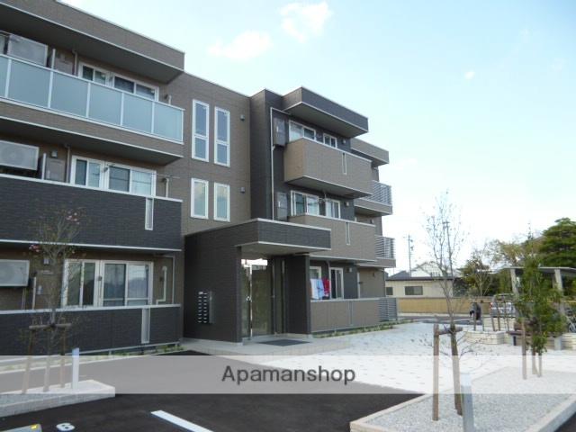 富山県富山市、富山駅北駅徒歩16分の築1年 3階建の賃貸アパート