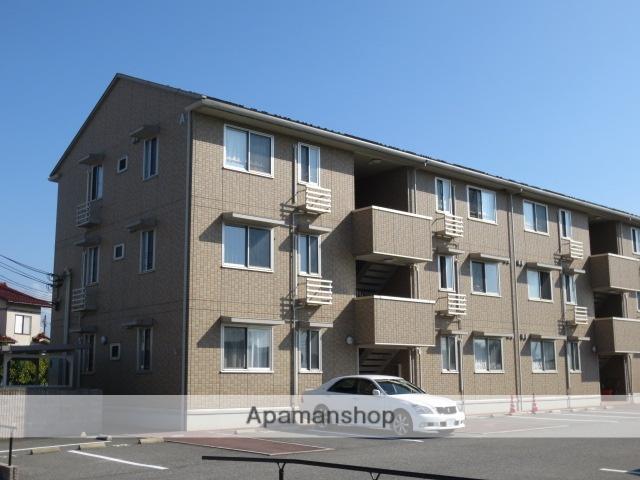 富山県富山市、南富山駅徒歩13分の築7年 3階建の賃貸アパート