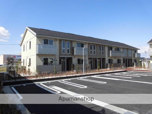 富山県富山市、速星駅徒歩12分の築1年 2階建の賃貸アパート