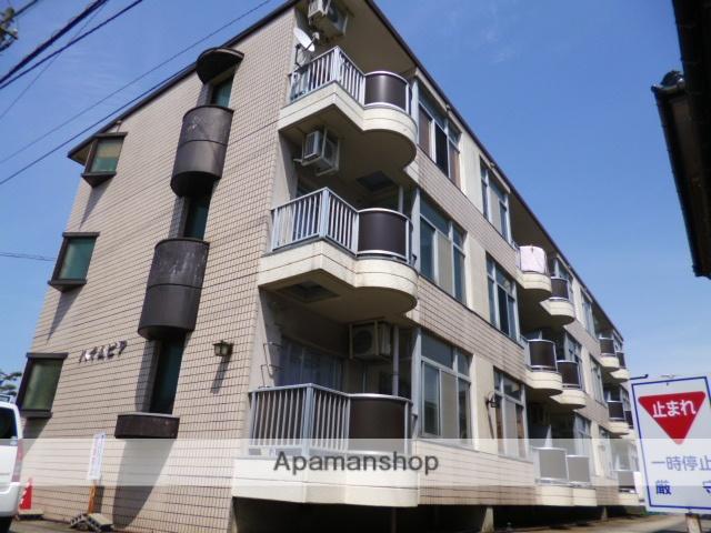富山県富山市、不二越駅徒歩11分の築27年 3階建の賃貸マンション