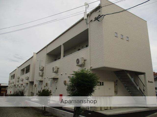 富山県富山市、稲荷町駅徒歩17分の新築 2階建の賃貸アパート