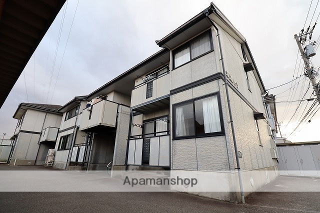 富山県富山市、奥田中学校前駅徒歩20分の築19年 2階建の賃貸アパート