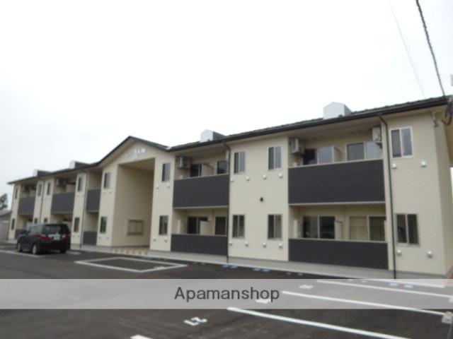 富山県富山市、朝菜町駅徒歩18分の新築 2階建の賃貸アパート