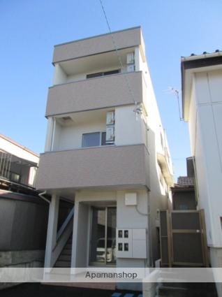 富山県富山市、小泉町駅徒歩6分の新築 3階建の賃貸アパート