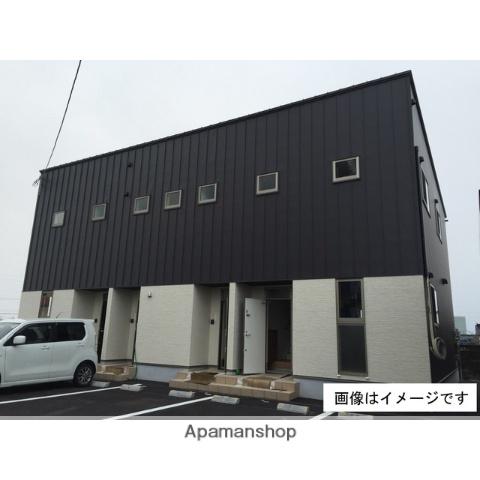 富山県富山市、越中荏原駅徒歩35分の新築 2階建の賃貸アパート
