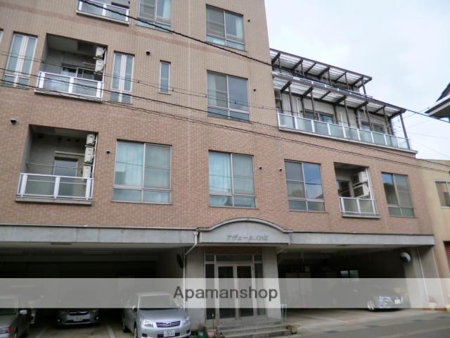 富山県富山市、広貫堂前駅徒歩1分の築15年 4階建の賃貸マンション