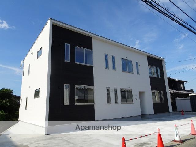 富山県富山市、速星駅徒歩20分の新築 2階建の賃貸アパート