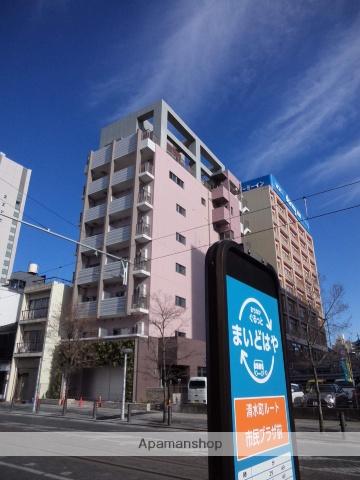 富山県富山市、国際会議場前駅徒歩2分の新築 8階建の賃貸マンション