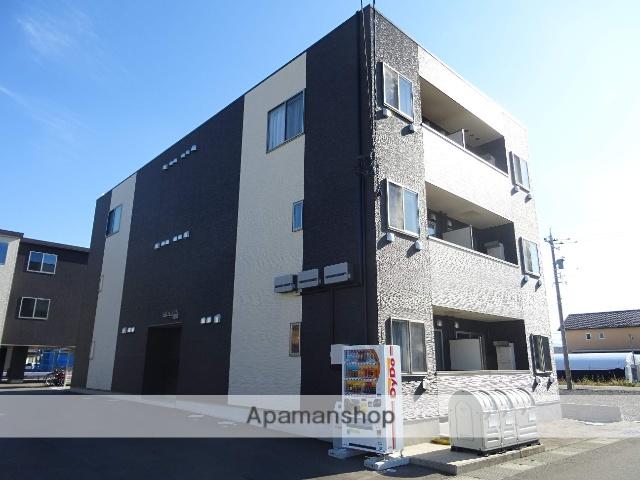 富山県富山市、インテック本社前駅徒歩17分の新築 3階建の賃貸マンション