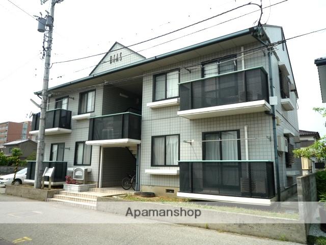 富山県富山市、呉羽駅徒歩35分の築22年 2階建の賃貸アパート