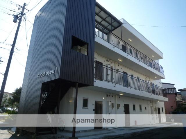 富山県富山市、不二越駅徒歩9分の築35年 3階建の賃貸アパート