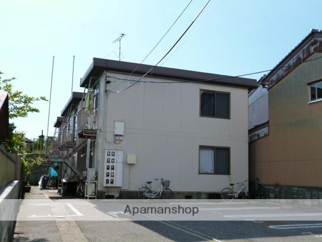 富山県富山市、東新庄駅徒歩6分の築36年 2階建の賃貸アパート