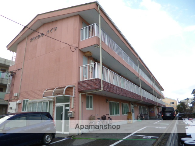 富山県富山市、越中荏原駅徒歩3分の築20年 3階建の賃貸アパート