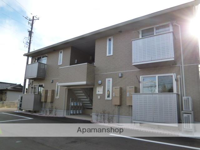 富山県富山市、西富山駅徒歩20分の築3年 2階建の賃貸アパート