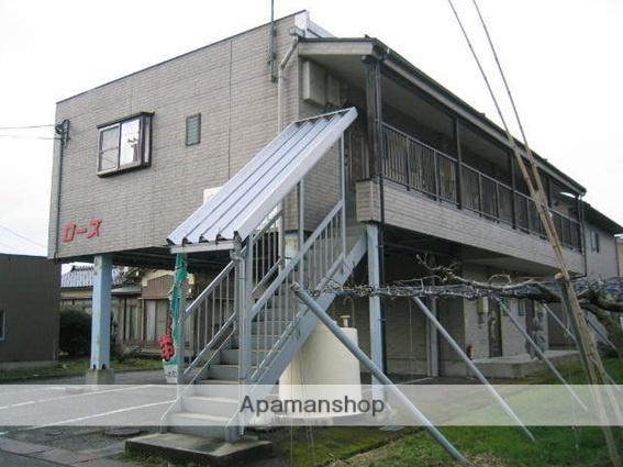 富山県富山市、呉羽駅徒歩15分の築20年 2階建の賃貸アパート
