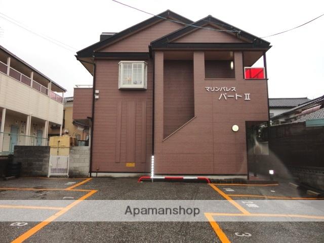 富山県富山市、呉羽駅徒歩21分の築25年 2階建の賃貸アパート