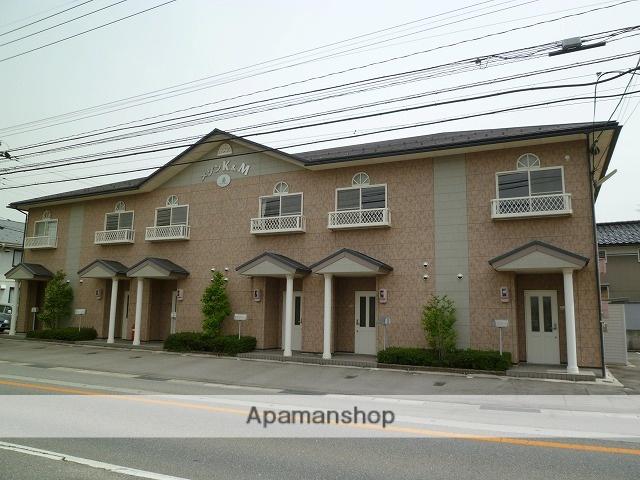富山県富山市、朝菜町駅徒歩17分の築15年 2階建の賃貸テラスハウス