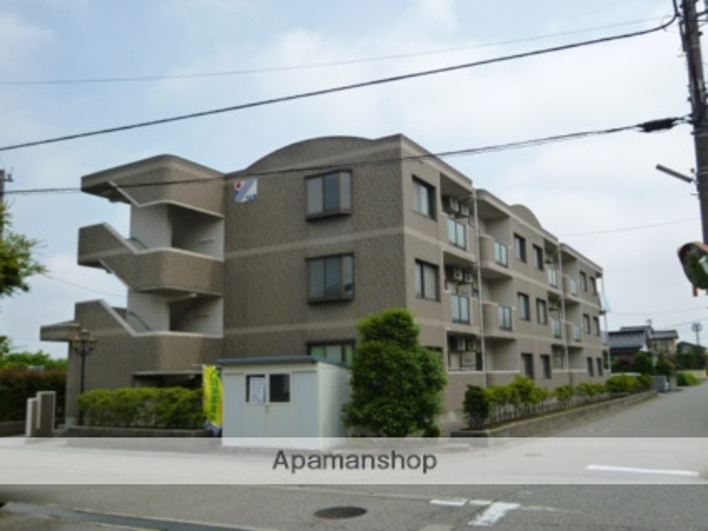 富山県富山市、大泉駅徒歩16分の築19年 3階建の賃貸マンション